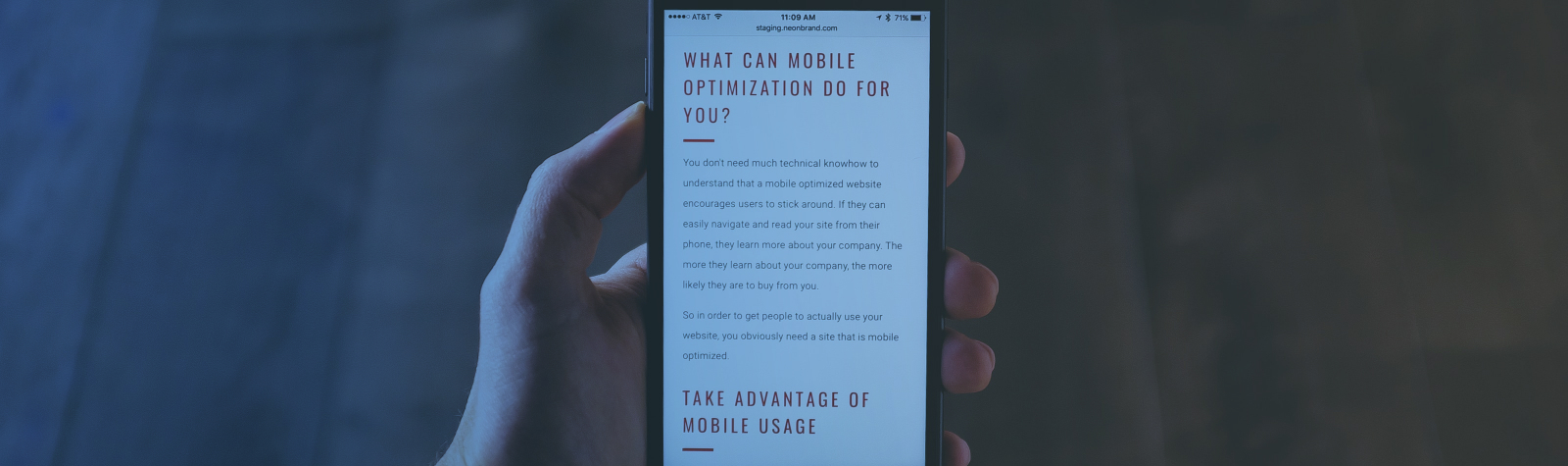 10 Reasons Why You Need a Mobile-Friendly Site Yesterday