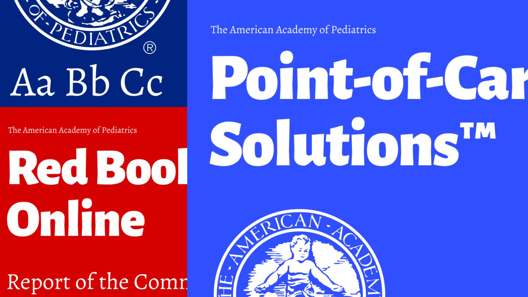 Branding for American Academy of Pediatrics - Redbook - by Adage Technologies