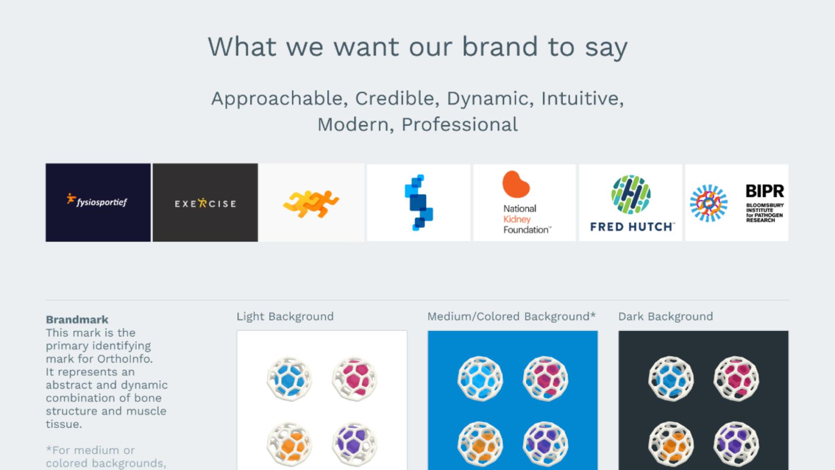 Brand strategy mood board